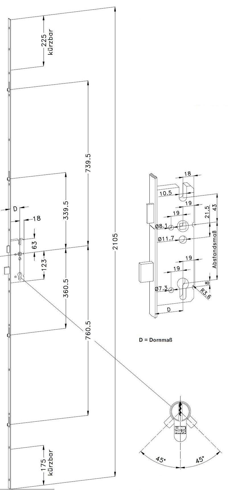 haust rverriegelung swalif. Black Bedroom Furniture Sets. Home Design Ideas