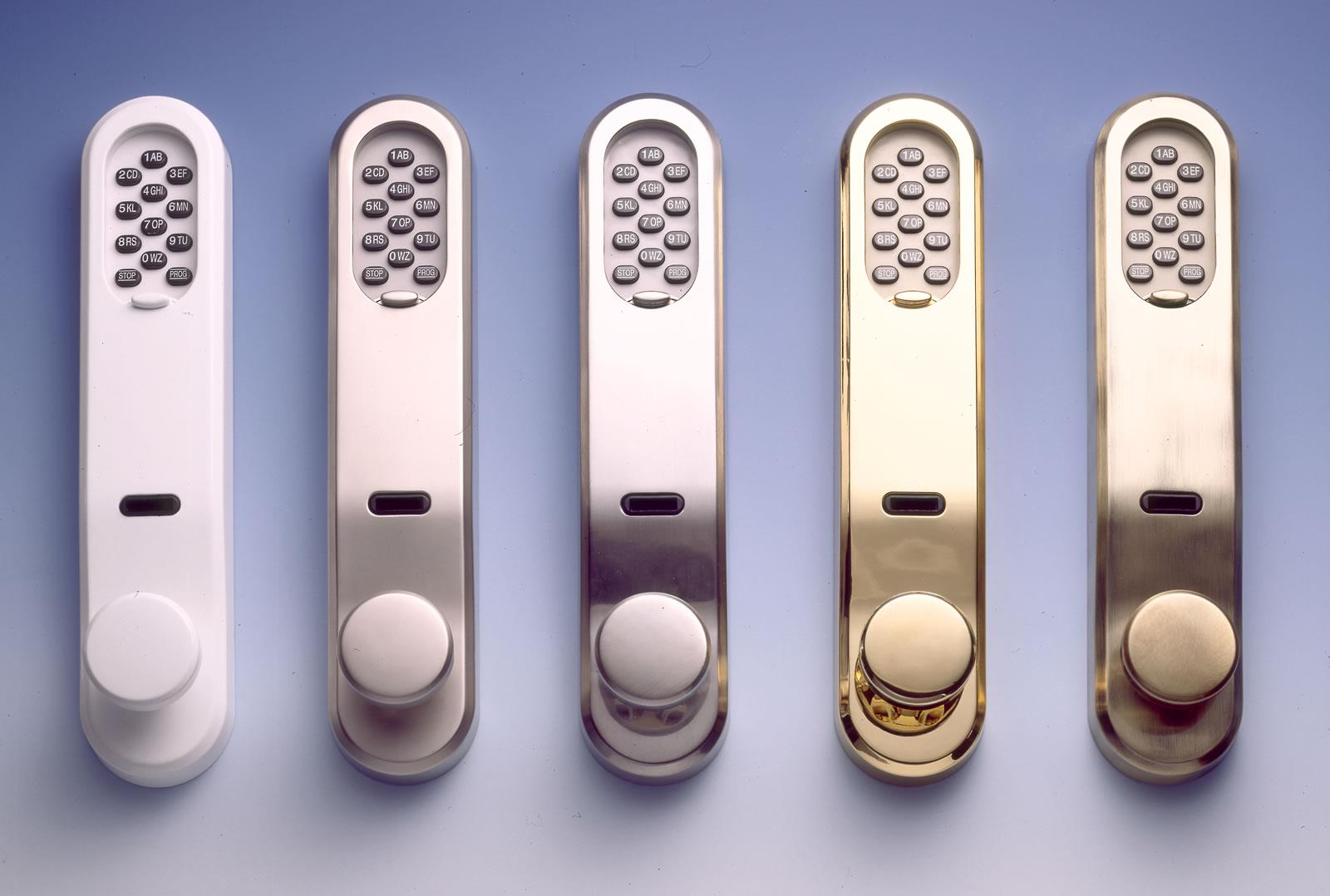 Schön Codeschloss von Seccor mit Chipschlüssel bedienbar KS33