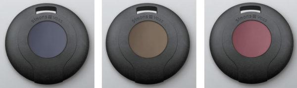 SimonsVoss Transponder Blau, Braun, Rot