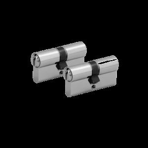 2er Zylinder-Set WILKA (2 Schließzylinder)