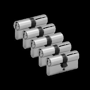 5er Zylinder-Set WILKA (5 Schließzylinder)