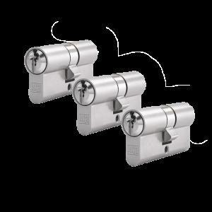 3er Zylinder-Set WINKHAUS (3 Schließzylinder)