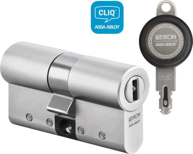 CLIQ Go Schließzylinder und Schlüssel