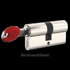 Dormakaba Schließzylinder mit Serviceschlüssel für Dienstleister